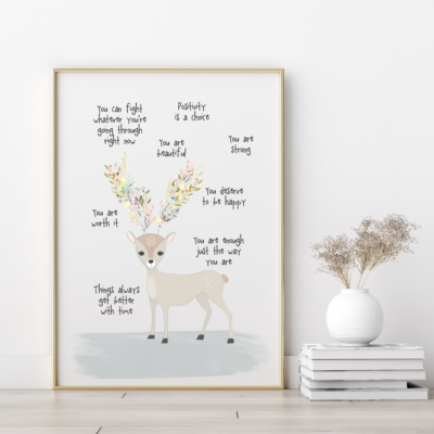Daily Reminders Art Print