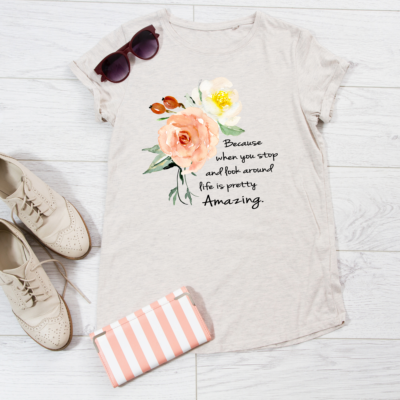 Life is Amazing Women Comfort Tee