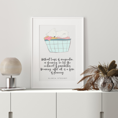 Dreaming Nursery Art Print